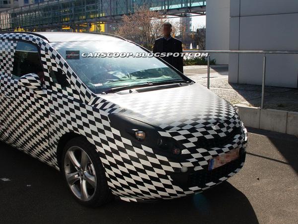 Futur Opel Zafira : première prise