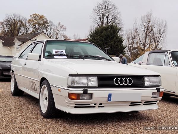 Photos du jour : Audi Quattro (Cars & Coffee Paris)