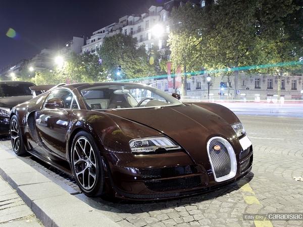 Photos du jour : Bugatti Veyron Grand Sport Vitesse
