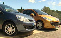 Ventes mars 2007: Renault Clio 2&3 devancent Peugeot 207