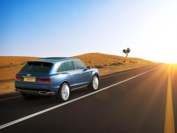 """Bentley: """"le SUV, meilleure idée qu'une sportive"""""""