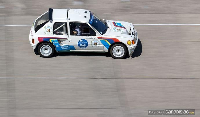 Photos du jour : Peugeot 205 Turbo 16 (Les Grandes Heures de l'Automobile)