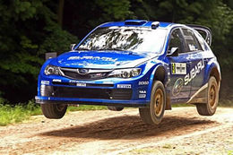 WRC : Markko Martin et Robert Reid au Richard Burns Memorial Rally