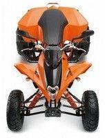 Les nouveaux quads KTM version 2010 sont dispos...