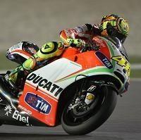 "Moto GP - Valentino Rossi: ""Je n'ai jamais pensé à quitter Ducati"""