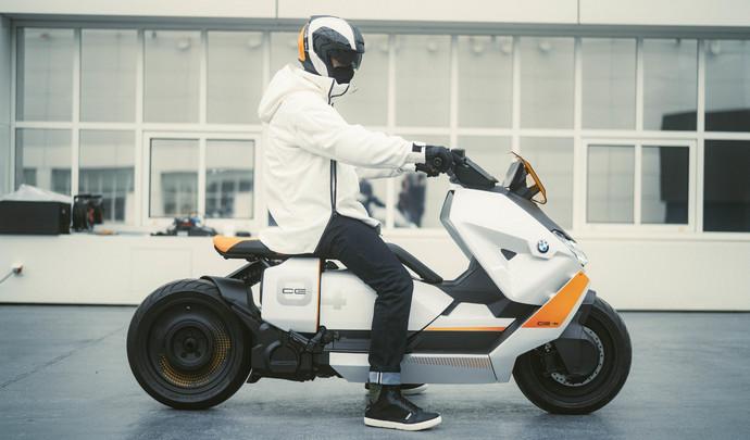 BMW dévoile un nouveau scooter électrique!
