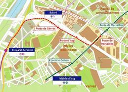 Prolongement du Tramway T2 en Région Île-de-France : les essais se poursuivent