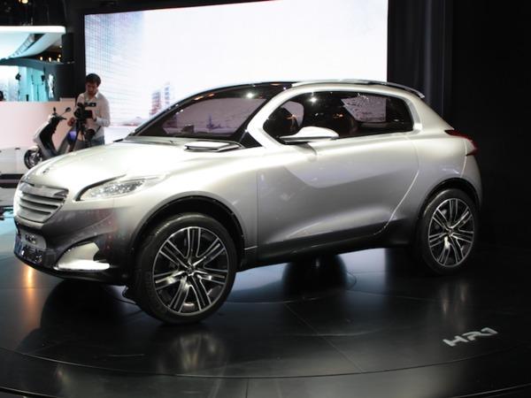 Un crossover basé sur la Peugeot 208 en 2013 ?