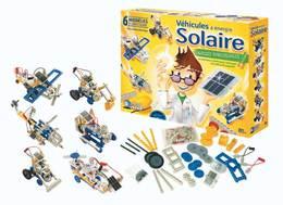 Idées cadeaux pour Noël 2009 : des véhicules à énergie solaire à réaliser !