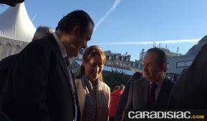 """La """"Question qui fâche"""" à Ségolène Royal, ministre de l'Écologie: """"Pensez-vous toujours que les autoroutes pourront bientôt être gratuites le week-end?"""""""