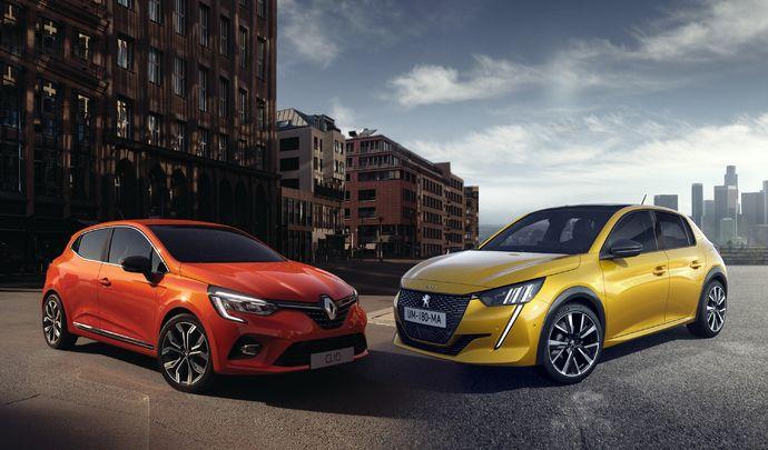 """DESIGN BY BELLU - Renault Clio vs Peugeot 208 : """" Au style bourgeois, installé, tout en retenue de la Clio, la 208 oppose un esprit rebelle"""""""