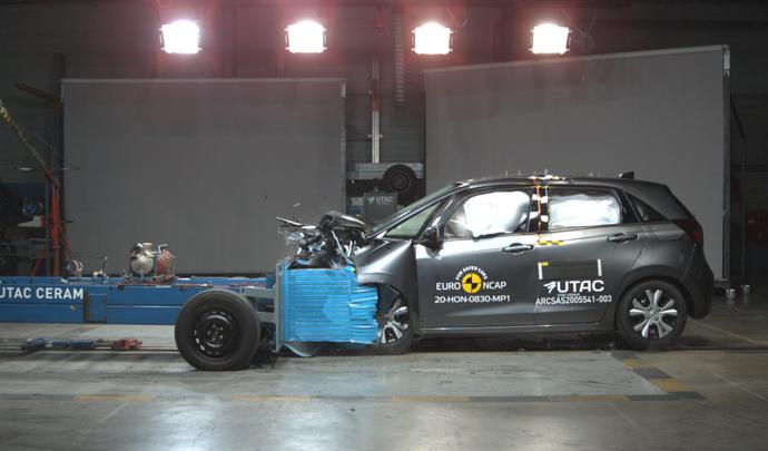 Résultats Euro NCAP : carton plein pour les Honda Jazz, Mazda MX30, Toyota Yaris et Volkswagen ID3