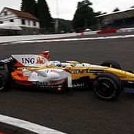 Formule 1 - Belgique D.1: Alonso passe entre les gouttes
