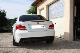Bery inox, une ligne d'échappement pour la BMW 125i