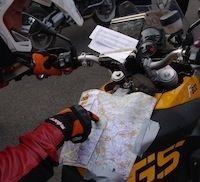 Reportage BMW Motorrad GS Trophy 2011: J-1.