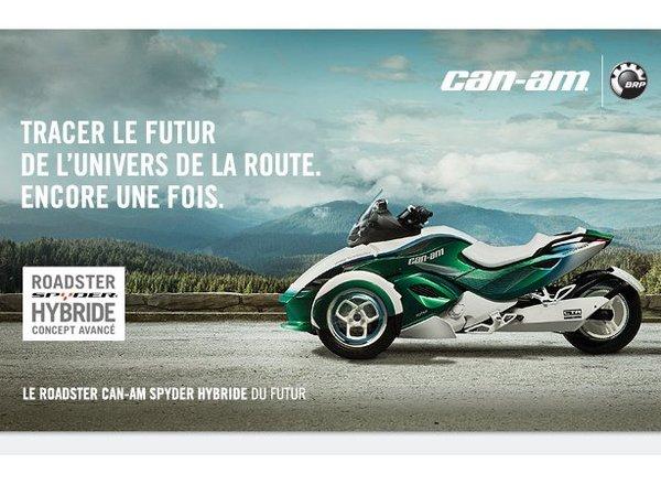 Genève 2011 : Can-Am Spyder hybride concept