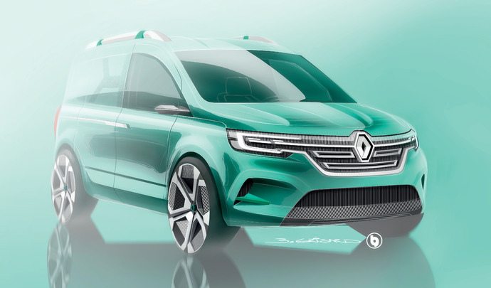 Renault: le nouveau Kangoo bientôt dévoilé