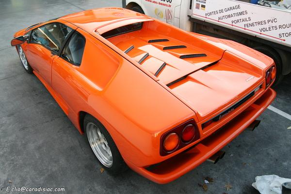 Photos du jour : Lamborghini Diablo
