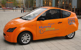 Une nouvelle voiture hybride rechargeable signée Axon Automotive