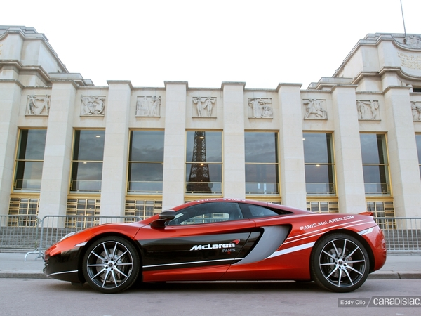 Photos du jour : McLaren MP4-12C (Rallye de Paris)