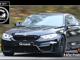 G-Power donne 520 chevaux à la BMW M4