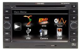 Zenec, une station multimédia pour Golf 4, Audi A4 ...