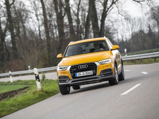 L'Audi Q3 restylé arrive en concession : discret