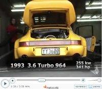 La vidéo du jour : Porsche on the dyno !