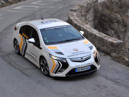 Des Opel Ampera aux Rallye Monte-Carlo des énergies nouvelles