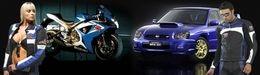 Vidéo Moto & Sexy : Yamaha R1 Top Gear Superstore (En lot de deux)