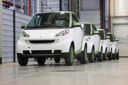 La production en série limitée de la Smart Fortwo Electric Drive a démarré en France