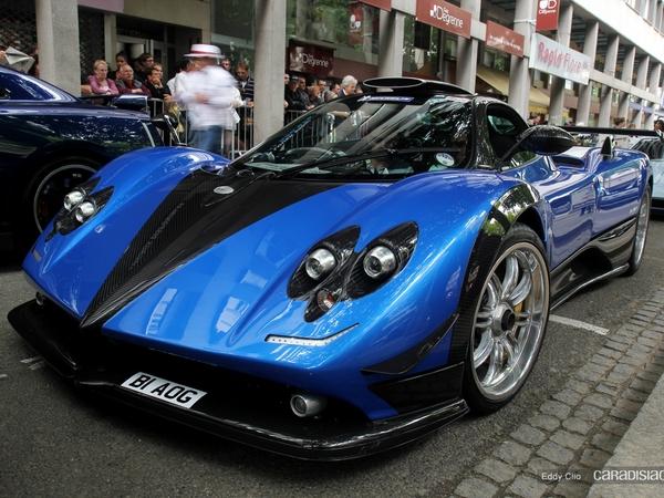 Photos du jour : Pagani Zonda PS (Parade des Pilotes du Mans)