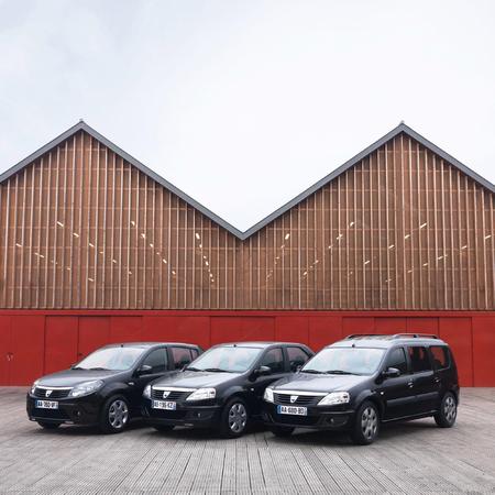 Dacia Sandero, Logan MCV et Logan Black Line: un peu de luxe