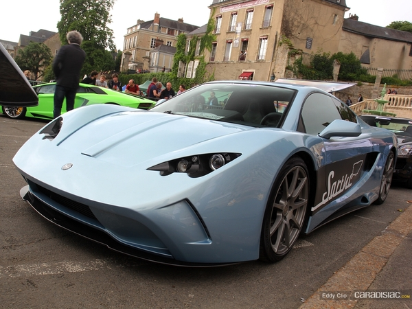 Photos du jour : Vencer Sarthe (Parade des Pilotes du Mans)
