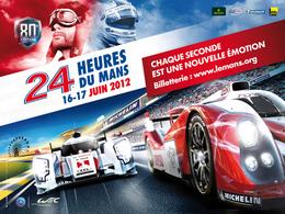 24 Heures du Mans 2012: voici l'affiche, Audi face à Toyota, évidemment!