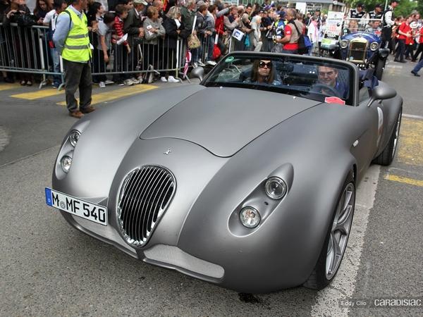 Photos du jour : Wiesmann MF5 Roadster (Parade des Pilotes du Mans)