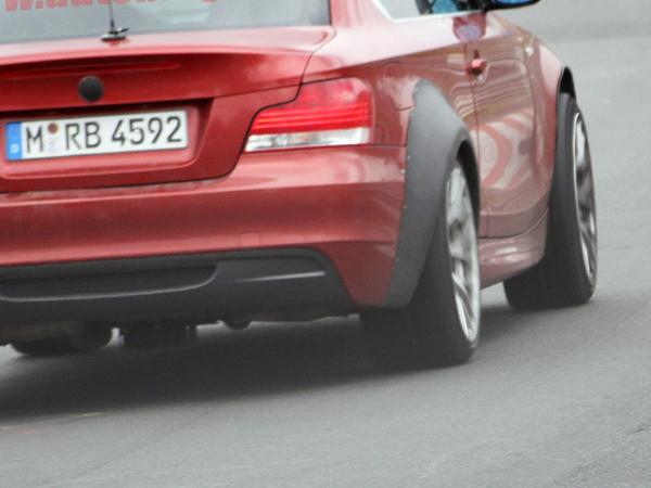 BMW Série 1 : la petite grosse s'entraine sur le Ring