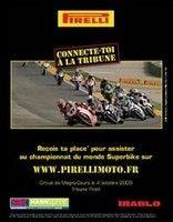 Pirelli vous offre votre place au Championnat du Monde de Superbike de Magny-Cours!