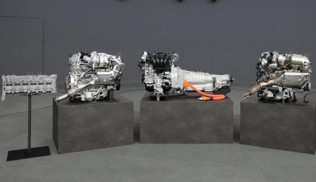 Mazda : première image du nouveau moteur six cylindres