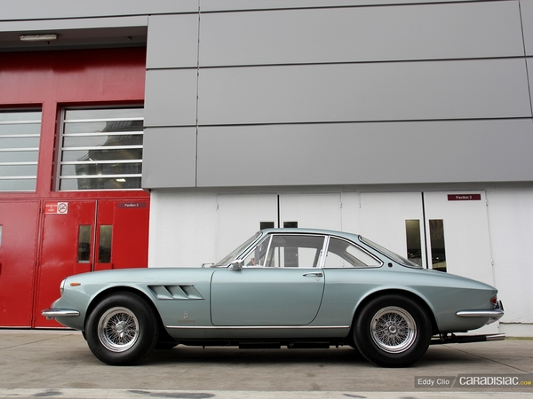 Photos du jour : Ferrari 330 GTC 1967 (Retromobile)