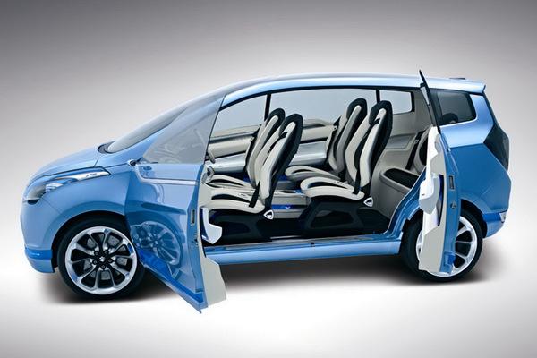Salon de New Delhi : Suzuki R3 Concept, Meriva dérivé ?