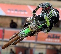 Motocross mondial : Steven Frossard laisse des points à Agueda