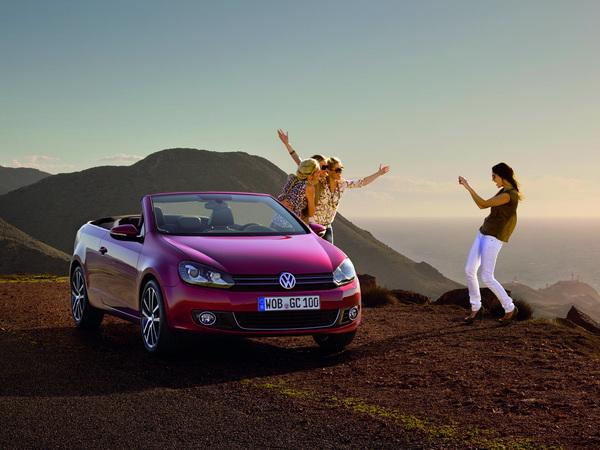 Genève 2011 : la VW Golf cabriolet se découvre