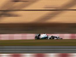 F1 - Mercedes GP W02, la plus rapide de toutes en ligne droite