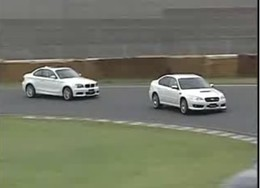 Vidéo : Battle Mitsubishi Evo X VS Porsche Cayman S VS BMW 135i ...