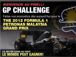 Pirelli GP Challenge 2012 : faites vos pronostics pour le prochain Grand Prix F1 de Malaisie