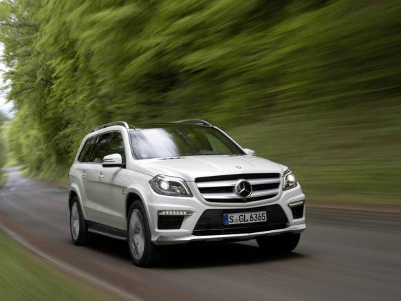 Mercedes prépare un GL... C