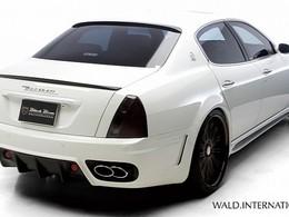 Maserati Quattroporte Black Bison par Wald, avec plus d'appendices mais moins de classe