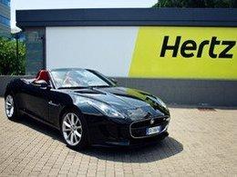 La Jaguar Type-F arrive chez Hertz