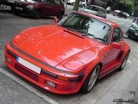 Photo du jour : Porsche turbo flat nose
